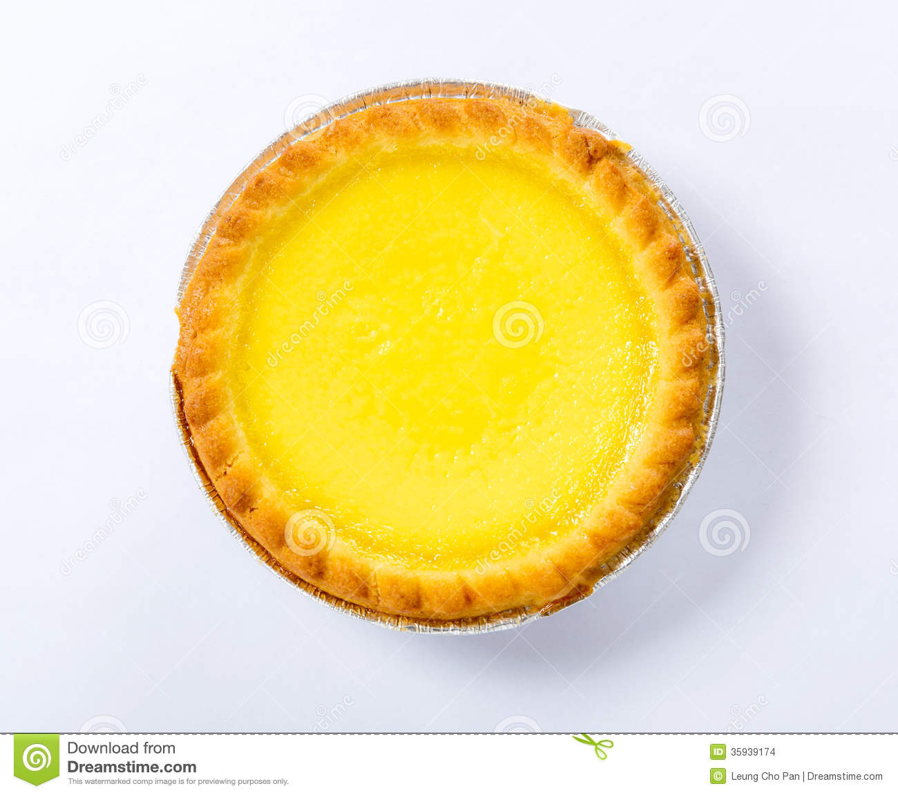 Egg Tart Stock Images - Image: 35939174