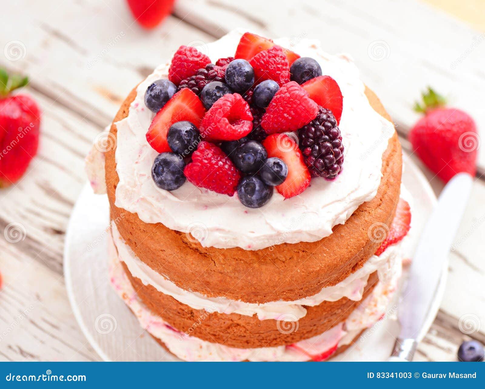 Eggless торт