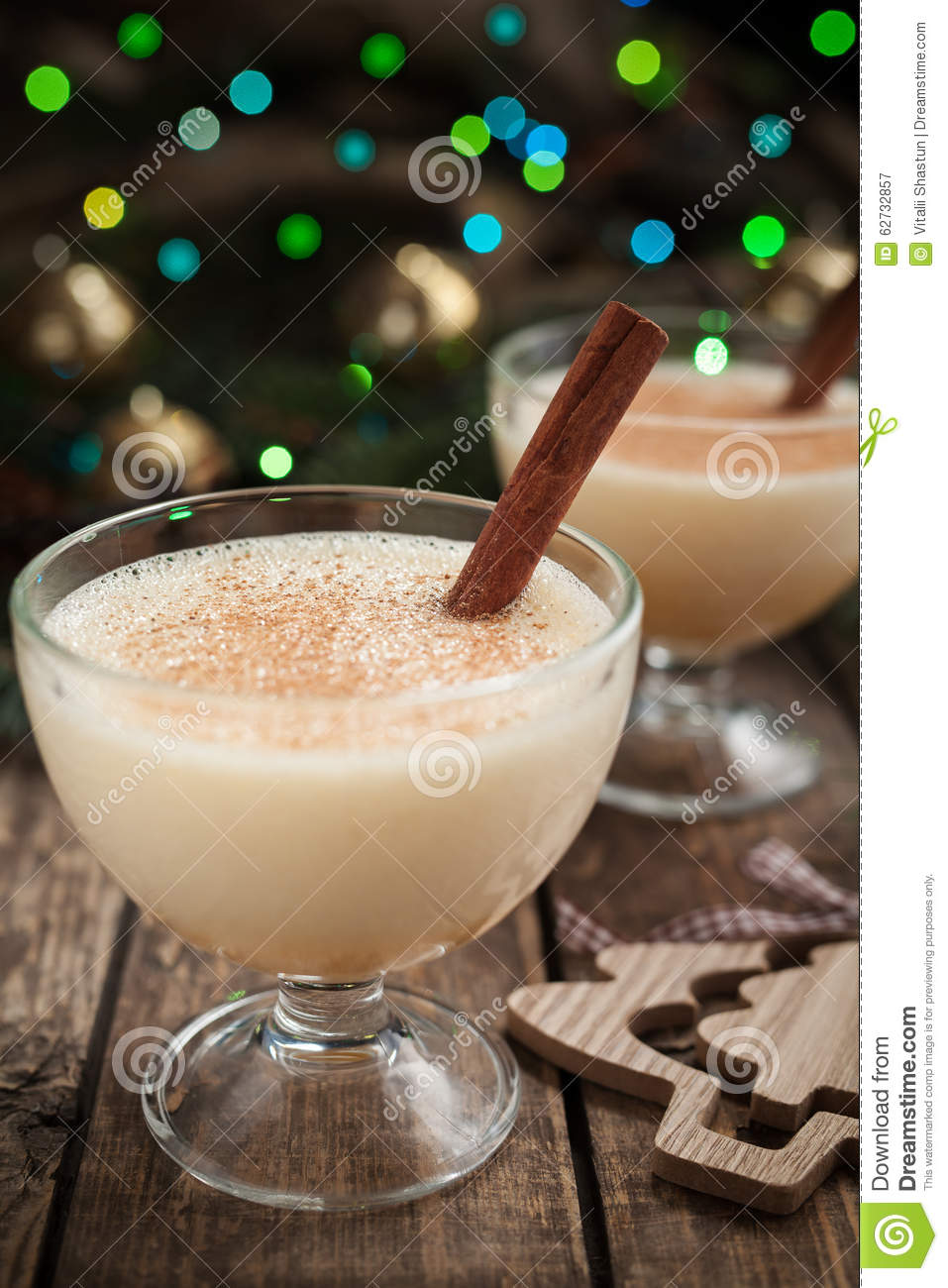 how to drink eggnog non alcoholic