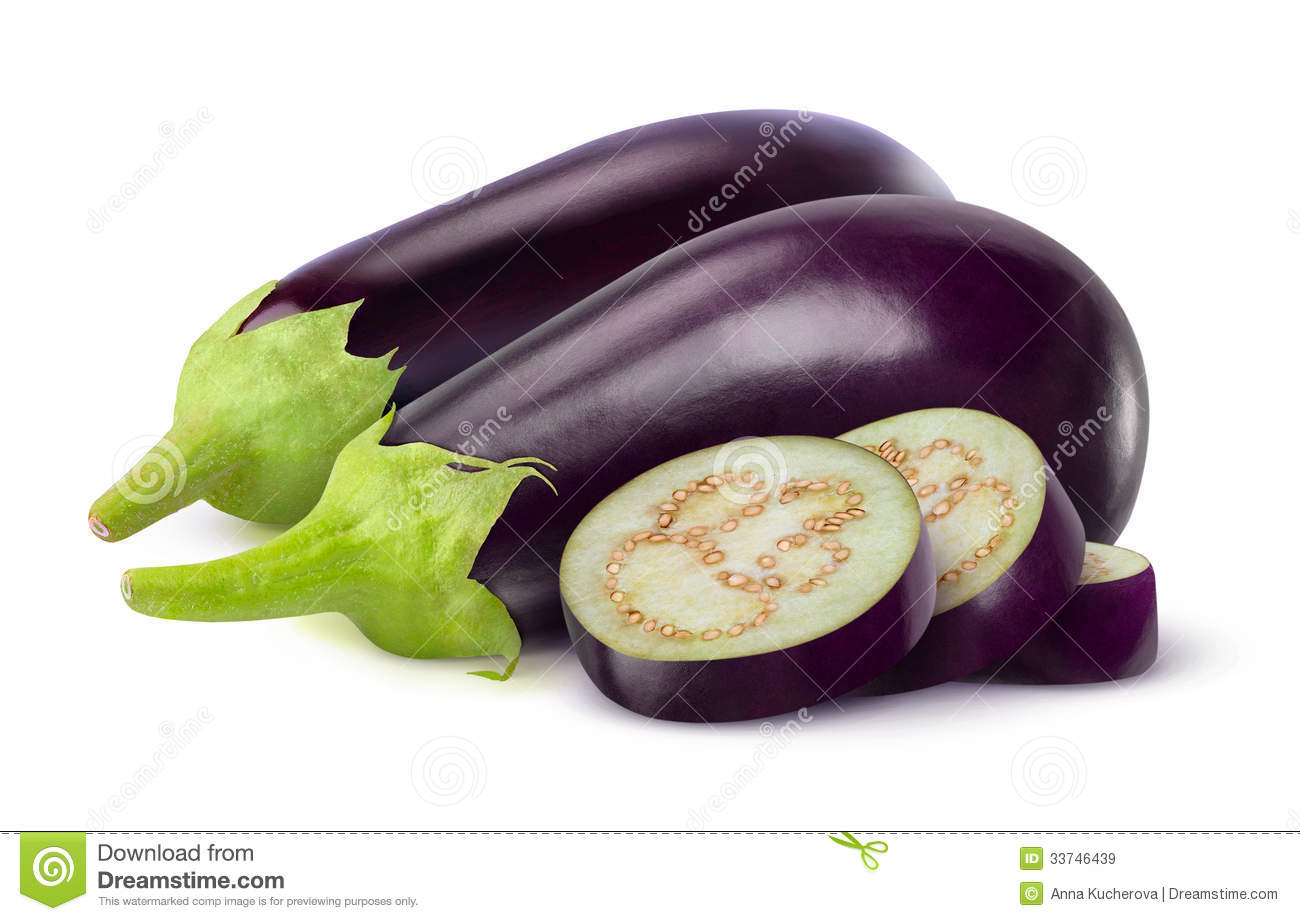 Eggplants Royalty Free Stock Images - Image: 33746439
