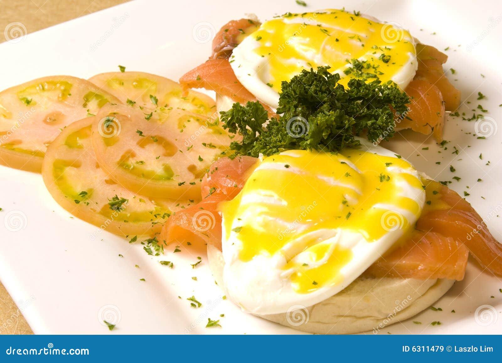 Eggs семги