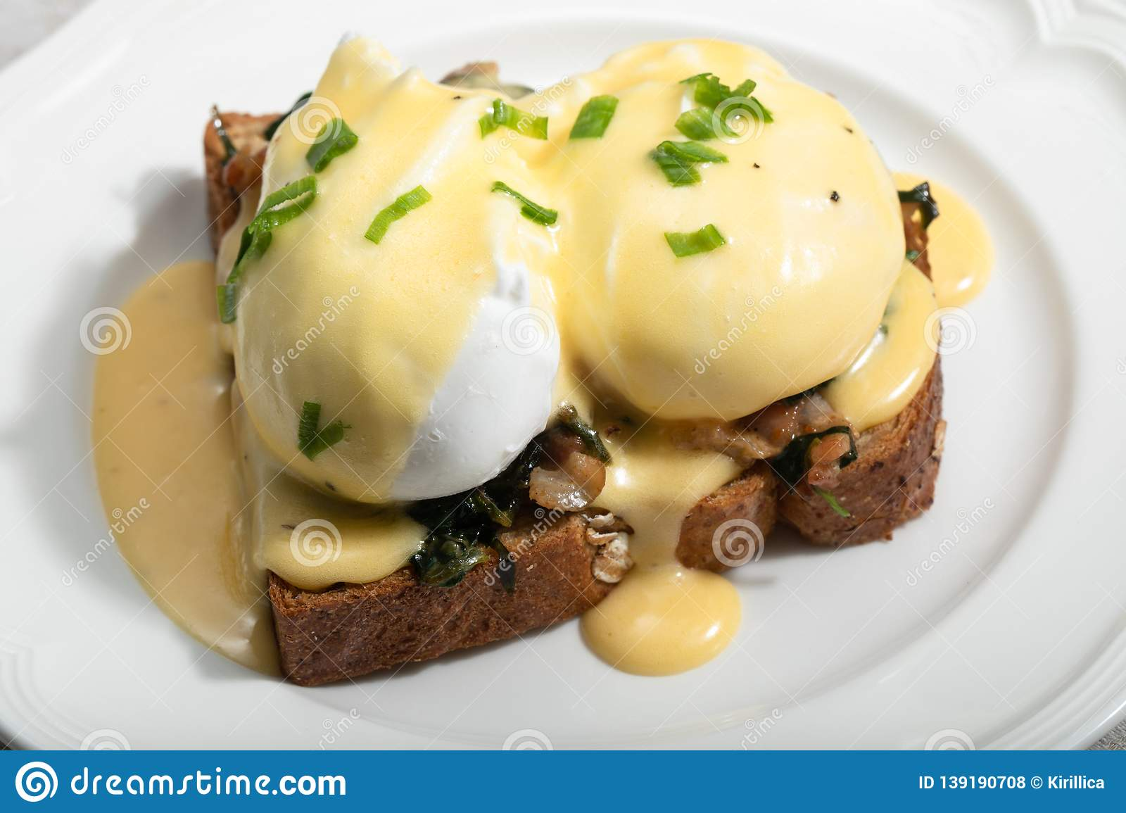 Eggs Benedict for brunch