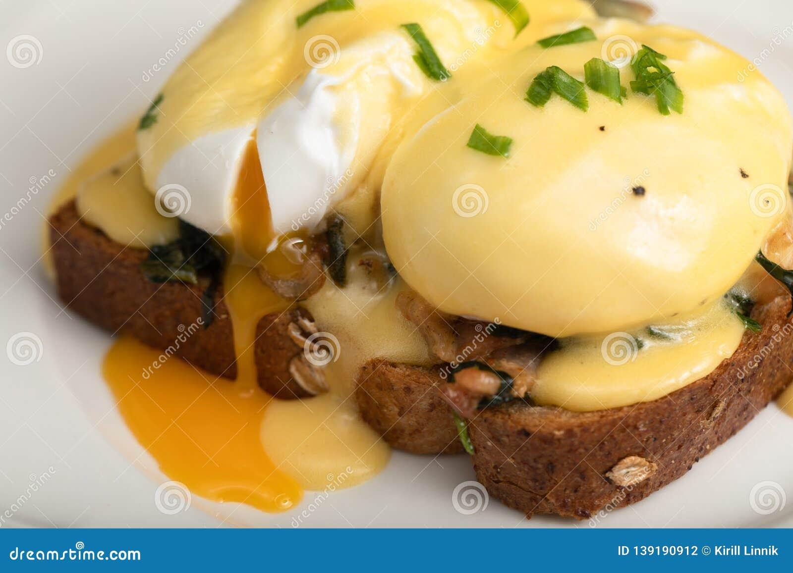 Eggs Benedict for brunch