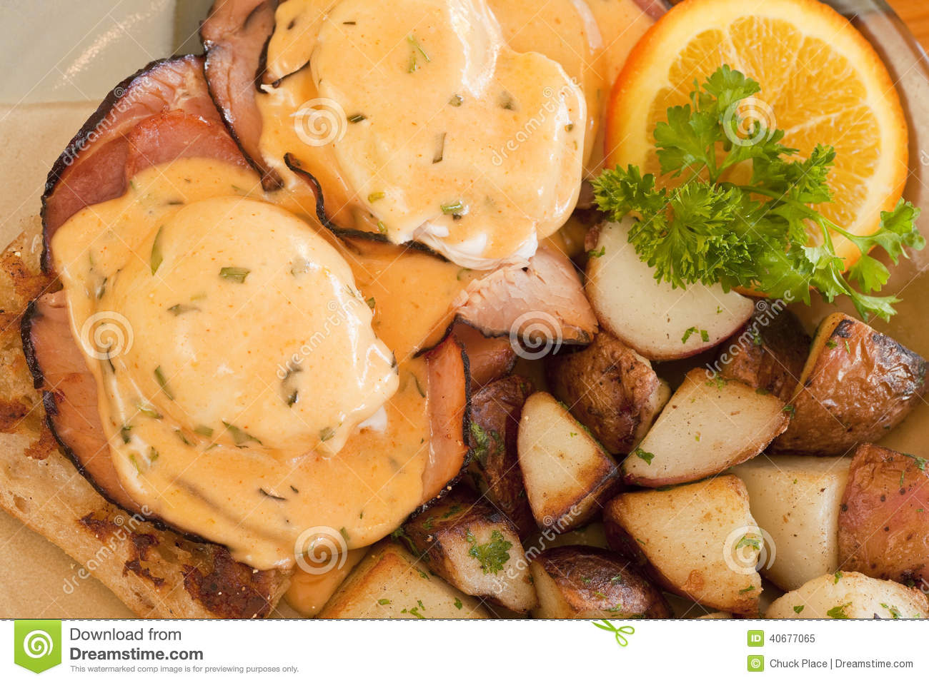 Eggs Benedict Stock Photo - Image: 40677065