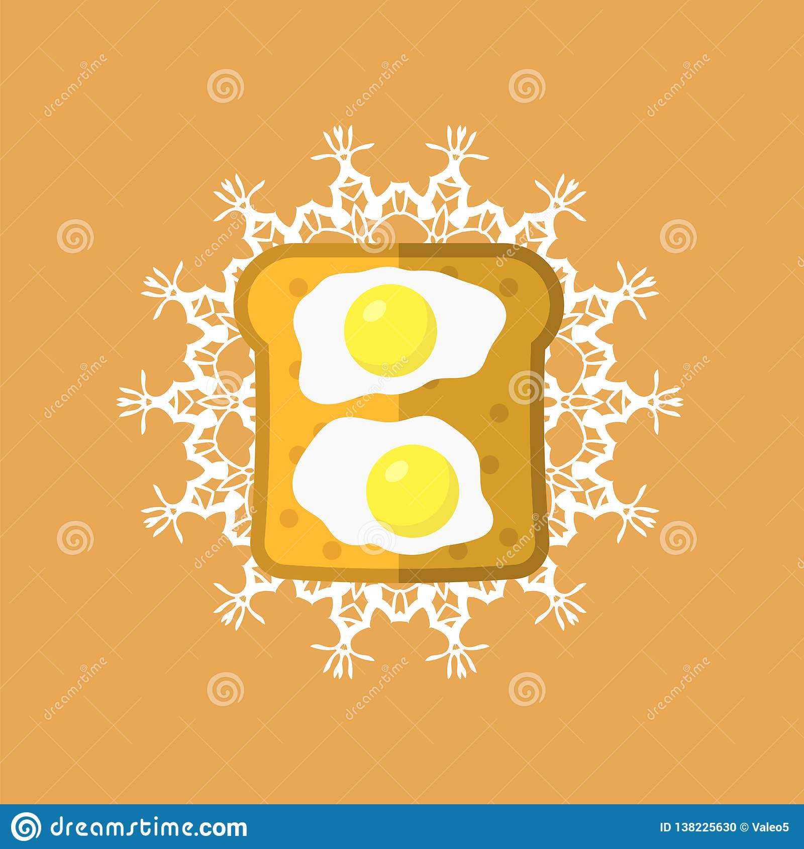 Eggs and Bread