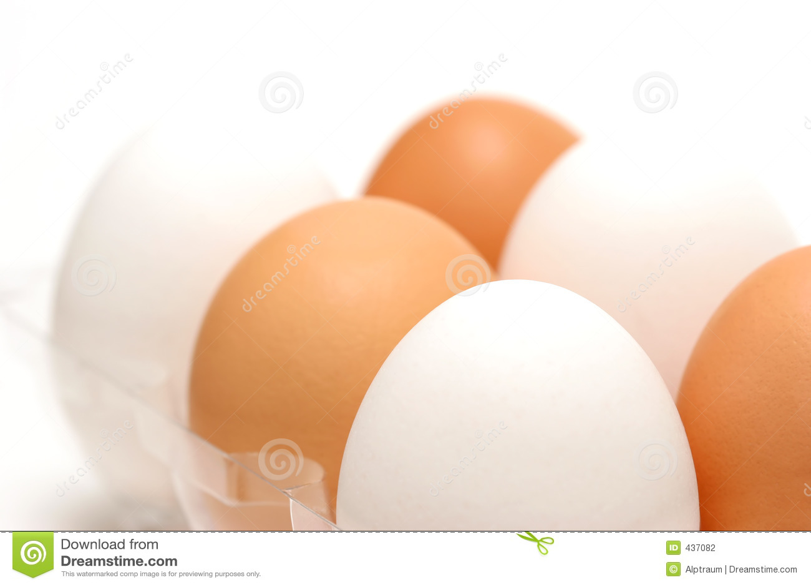Eggs diversity