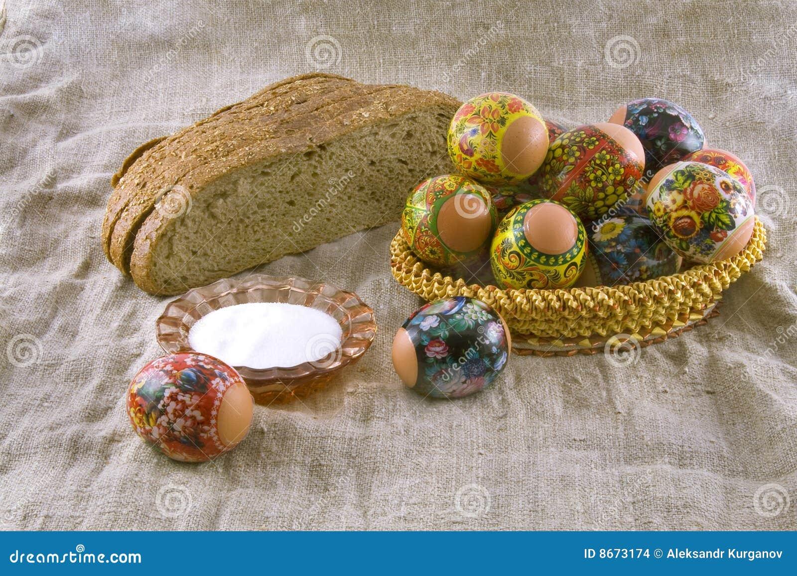 Eggs en bois extérieur rural