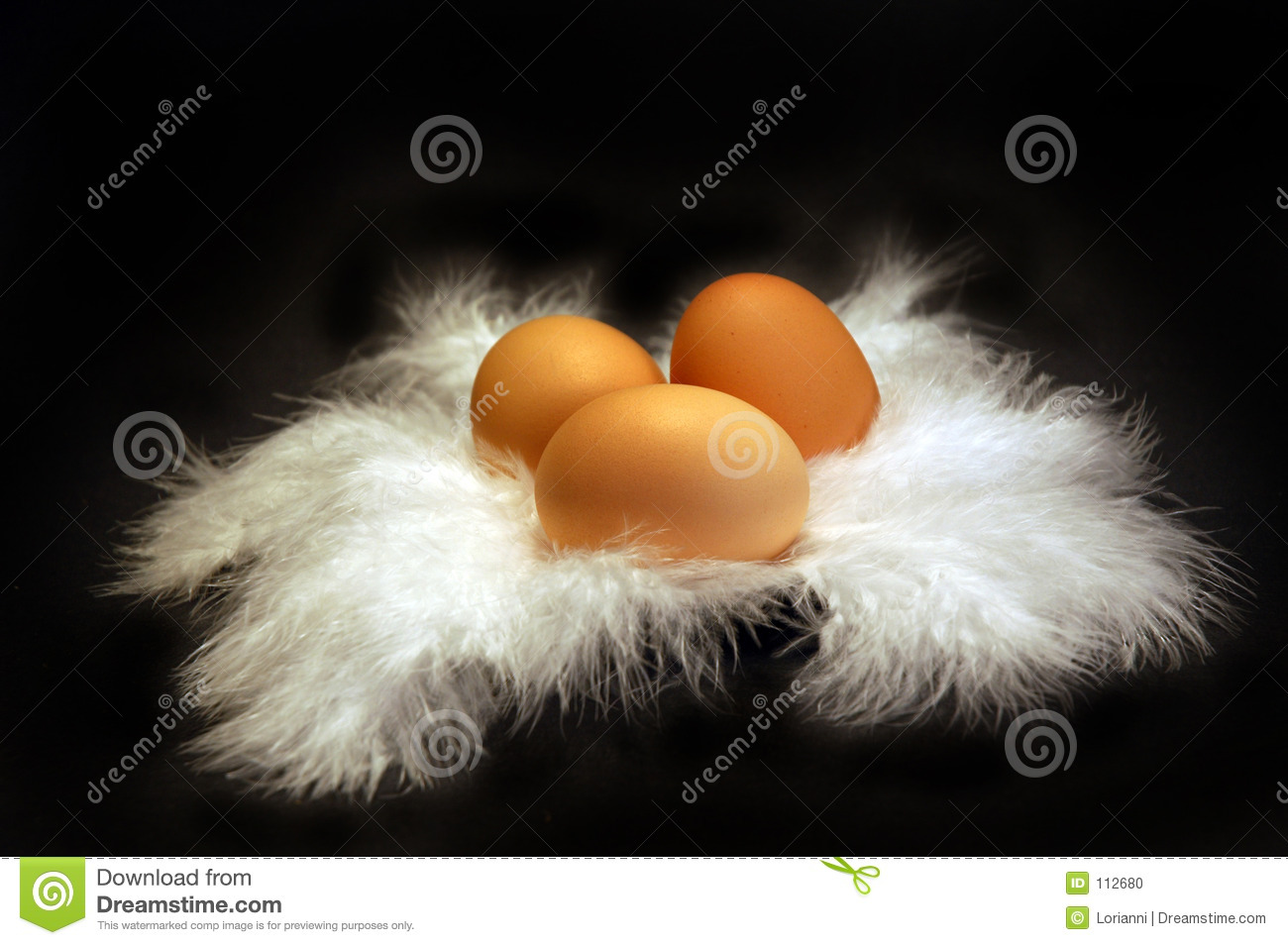 Eggs on Feather 1
