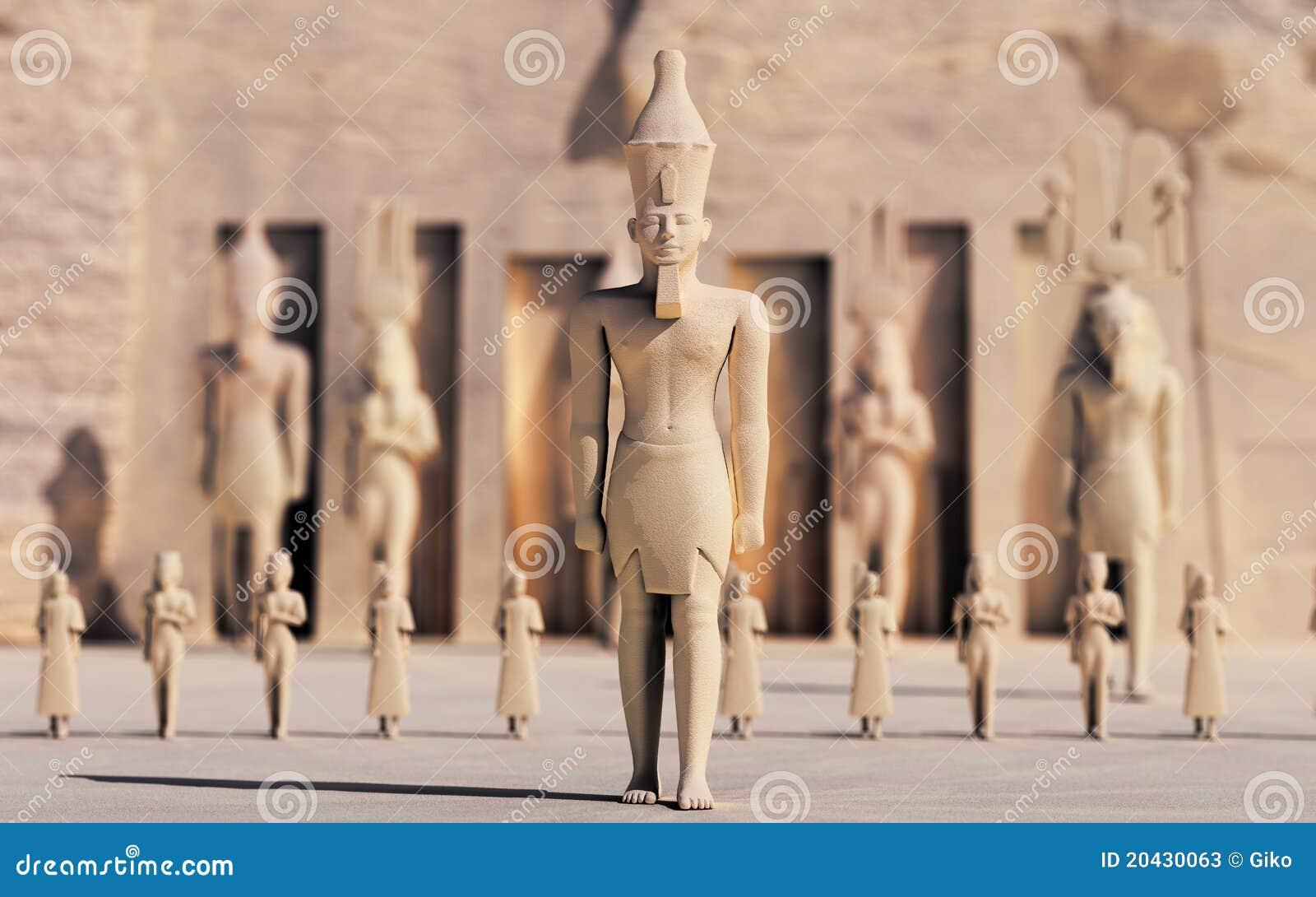 Egipcjanie jak spacer