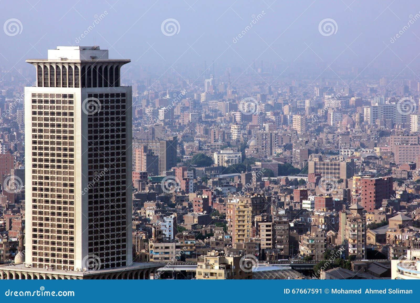 Egipt Cairo linia horyzontu
