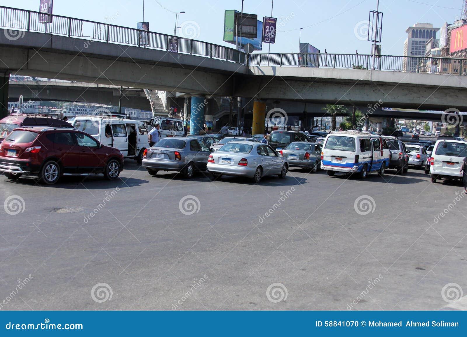 Egipt Kair ulicy widok