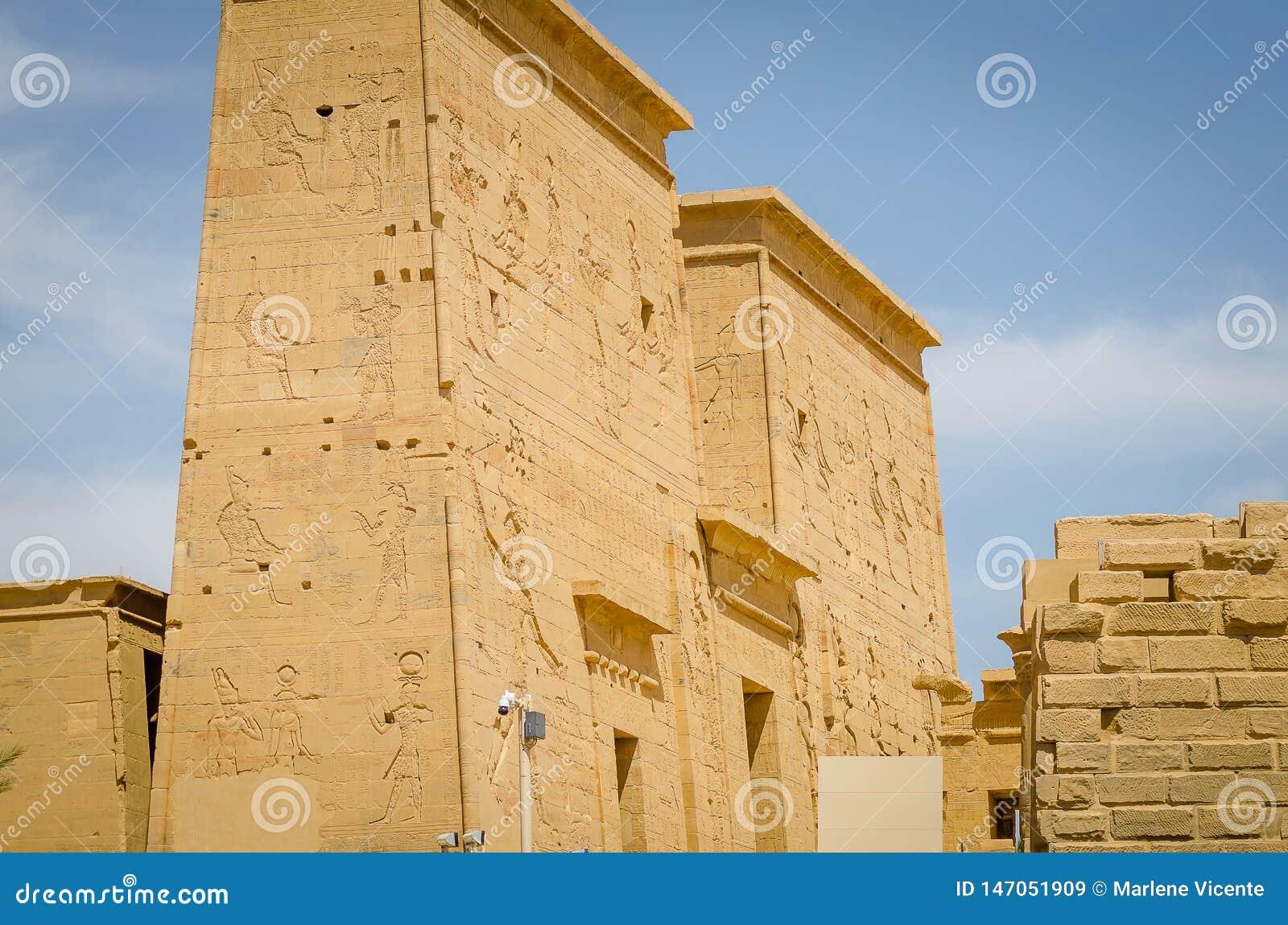 Egipt ?wi?tynia Philae, ?wi?tynia Isis