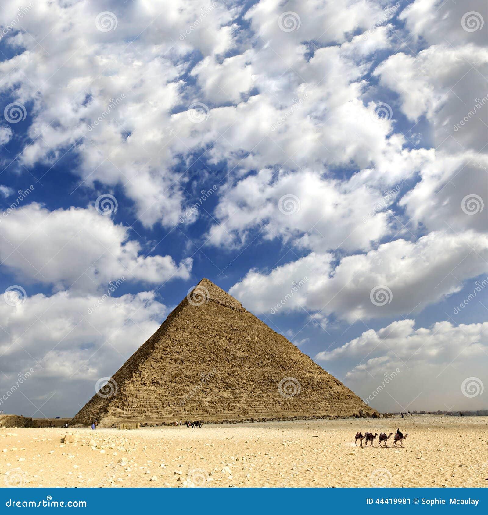 Egipt wielki Ostrosłup