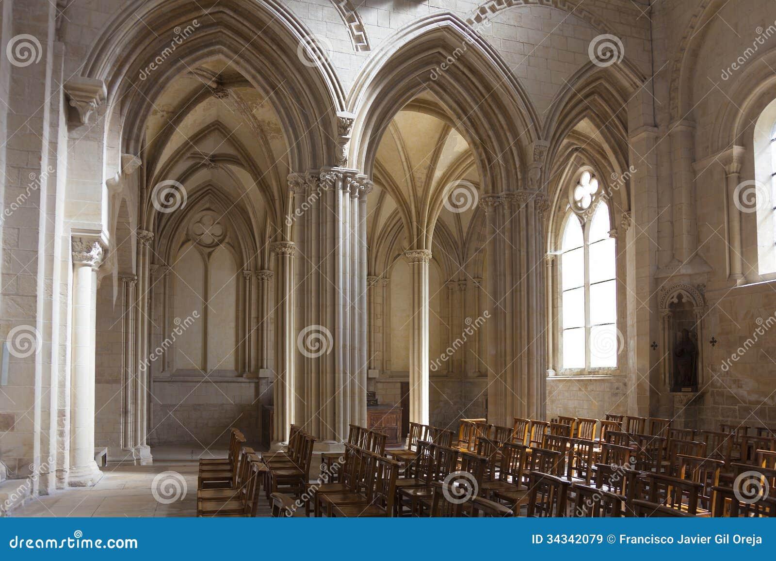 eglise de la sainte trinite abbaye aux dames caen stock image image 34342079. Black Bedroom Furniture Sets. Home Design Ideas