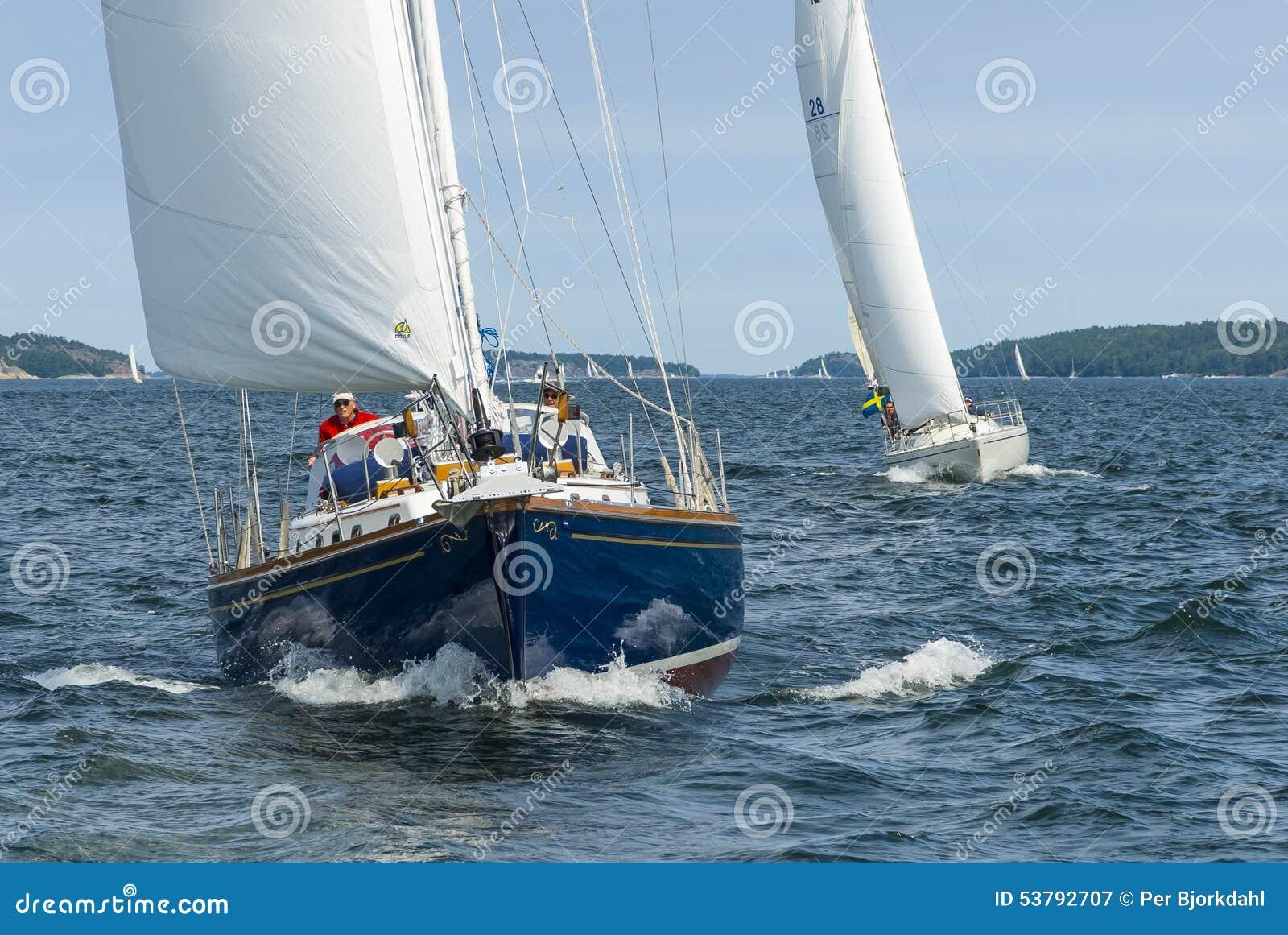 Żeglowanie jachtów Sztokholm archipelag
