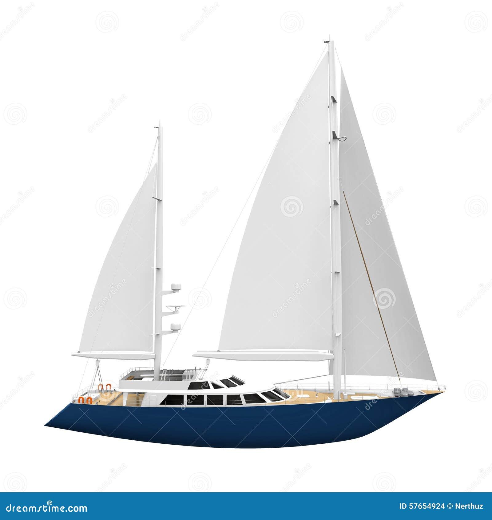 Żeglowanie jacht Odizolowywający