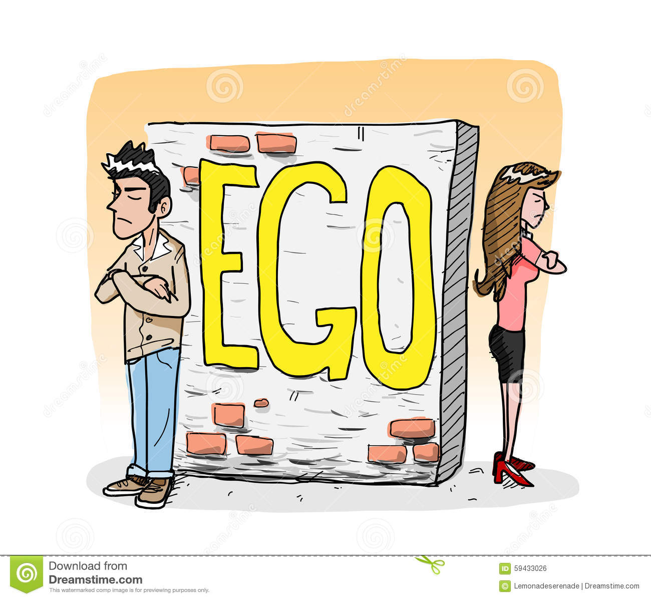 how to become less egocentric