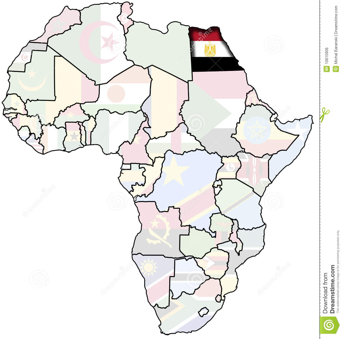 Egypt On Africa Map Royalty Free Stock Image Image - Map of egypt free download