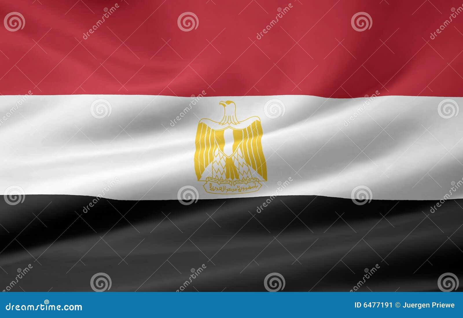 Egypt flagga