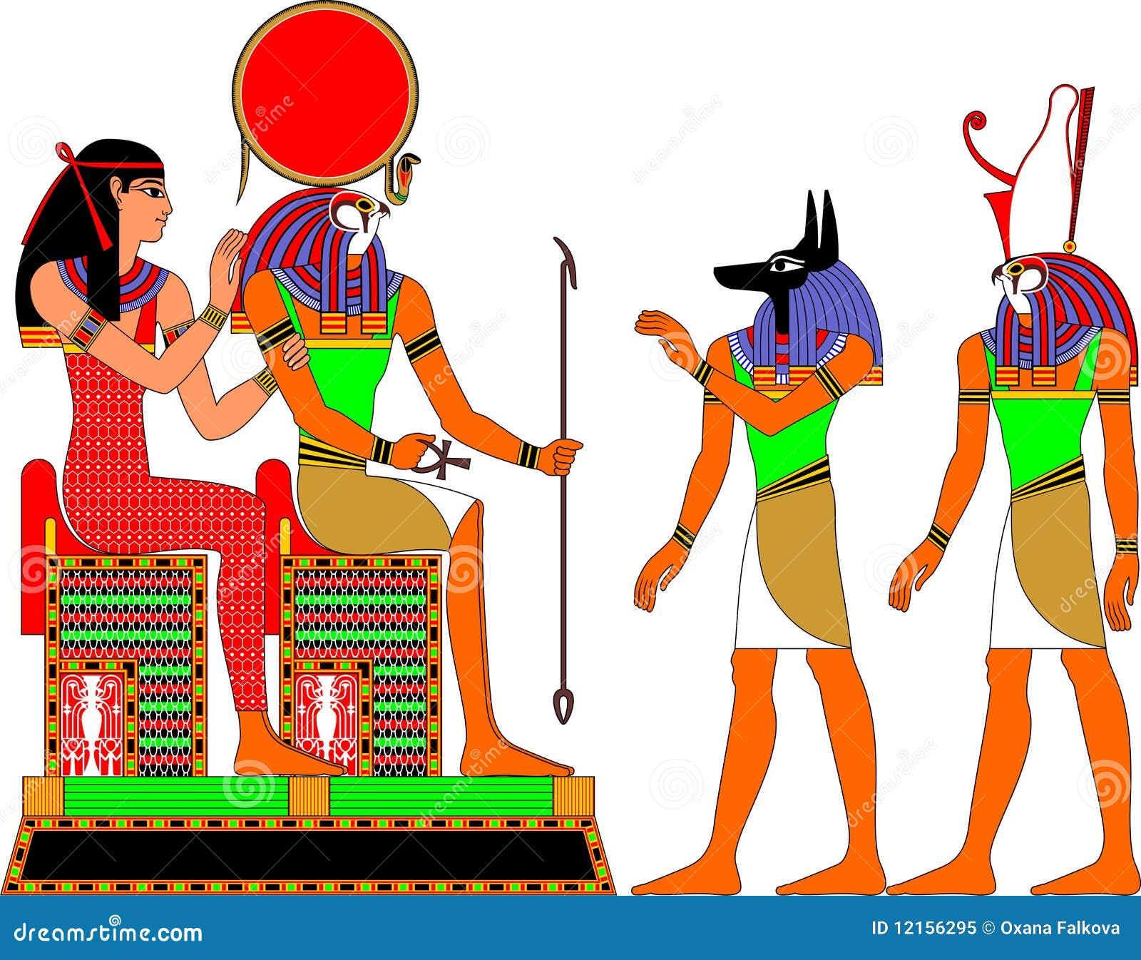Egypt gudar