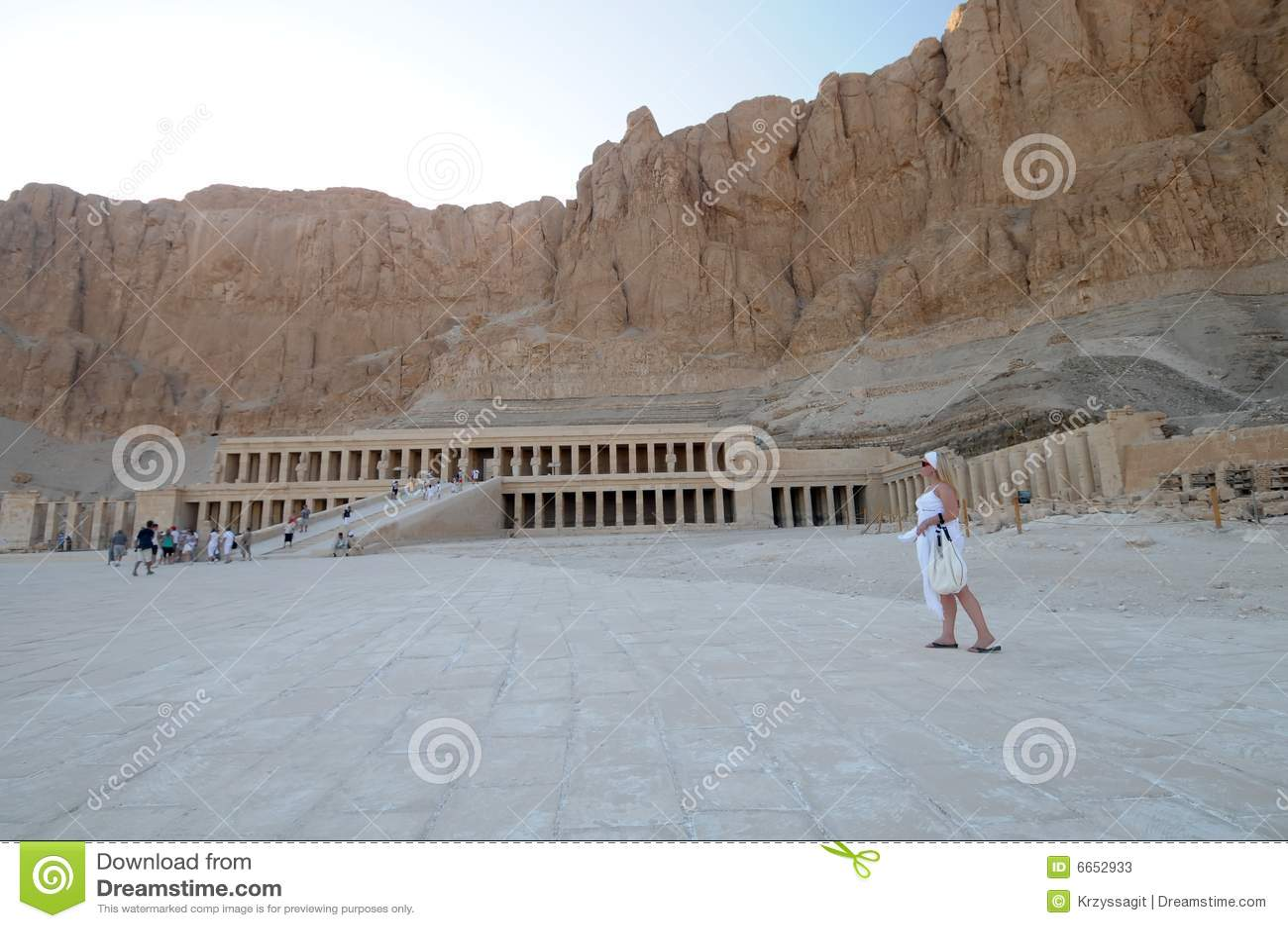 Egypt hatshepsuttempel