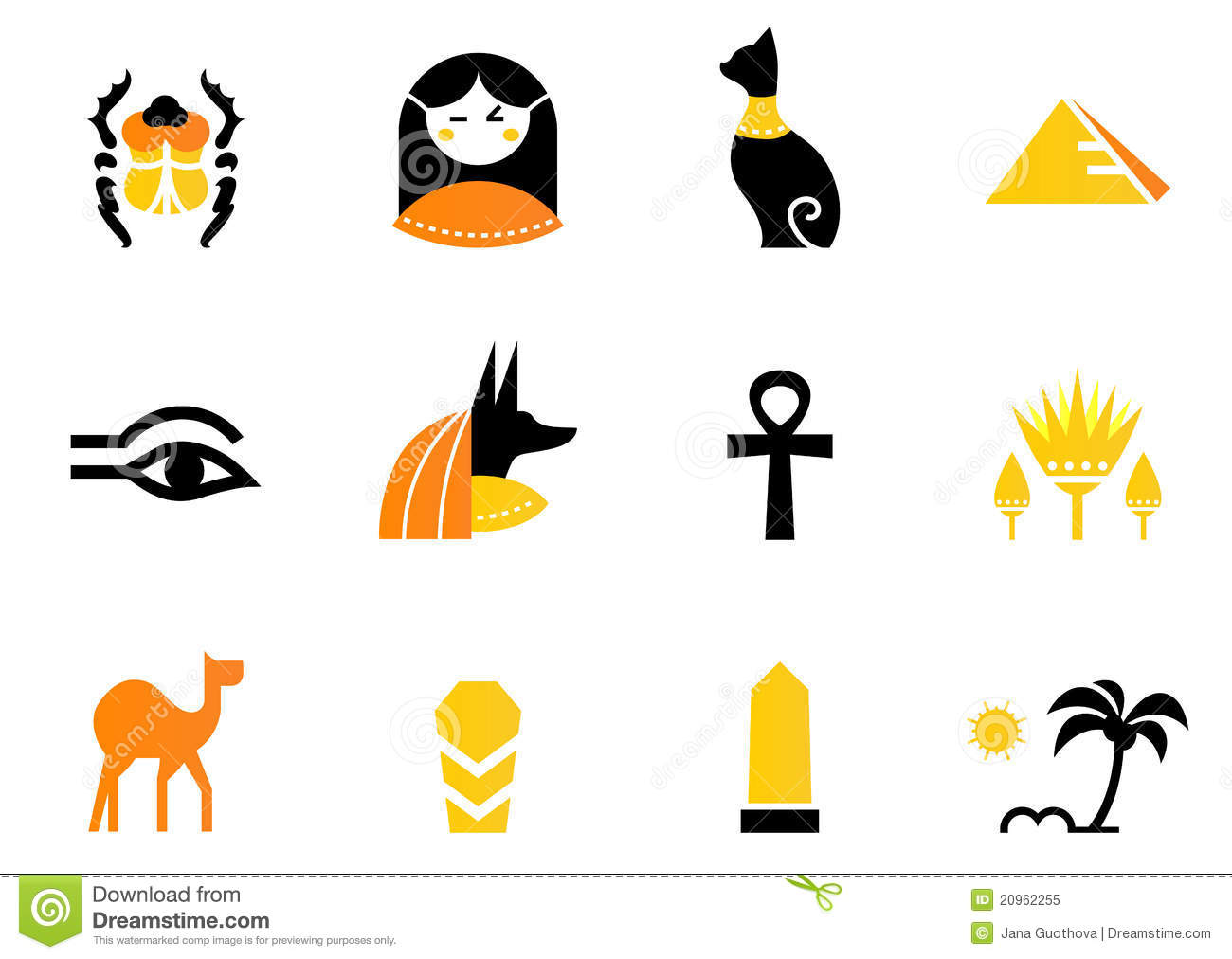 egyptian mythology symbols