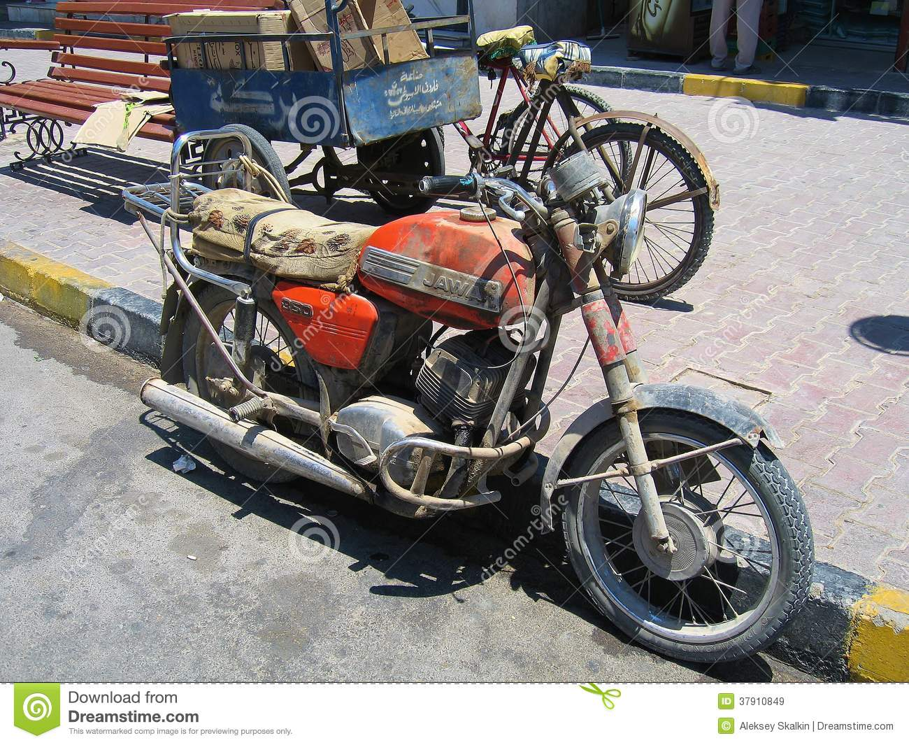 Egypt Java Motorcycle Editorial Stock Image Image Of Hurgaty