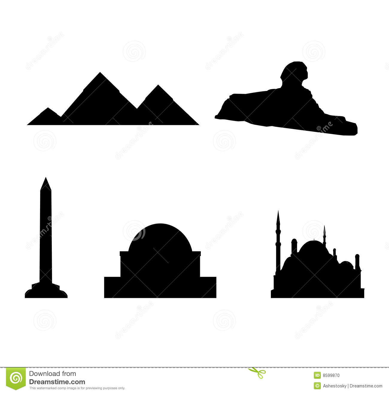 ... sphinx and the great pyramids, as well as mosques in cairo and obelisk