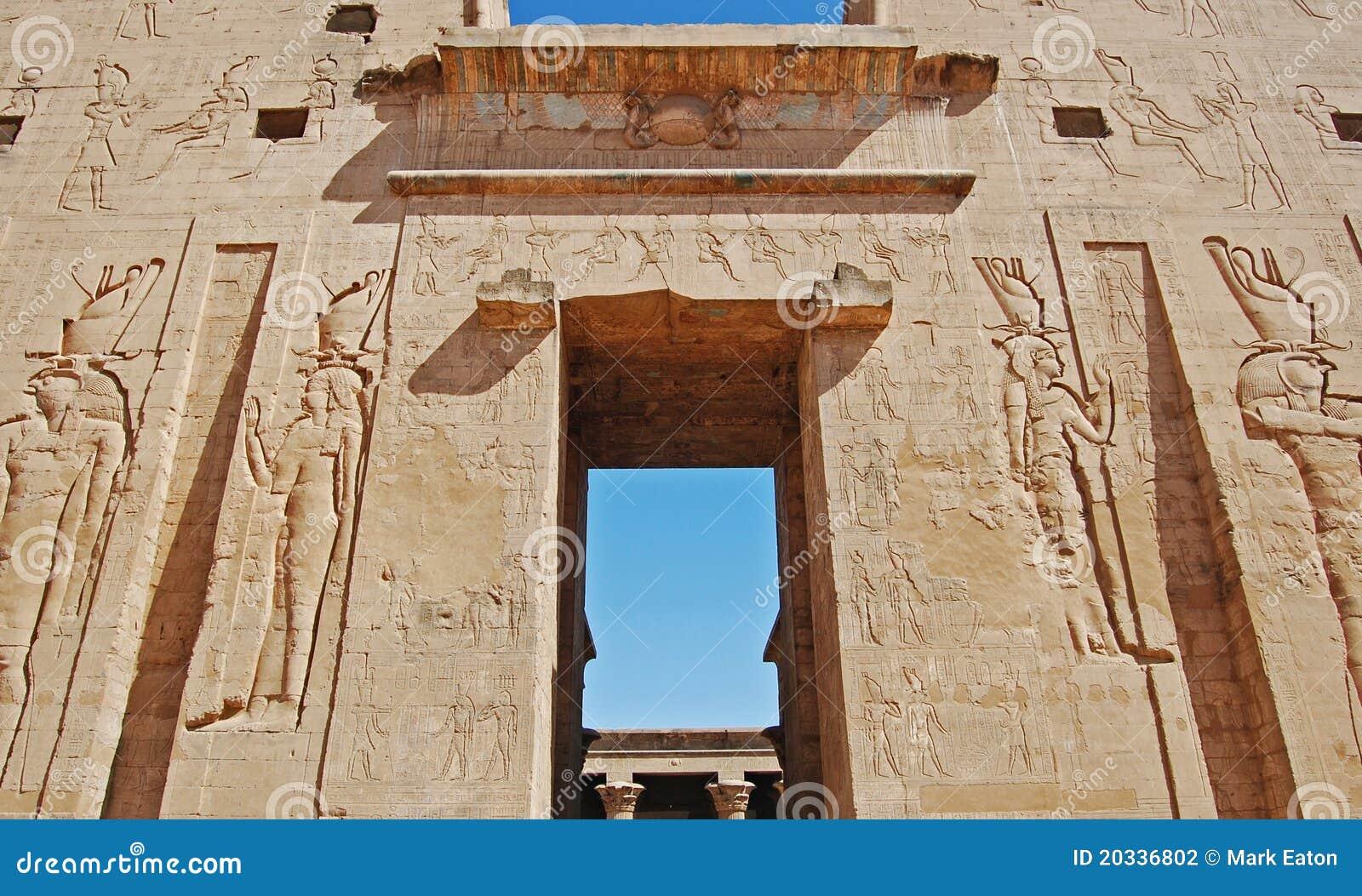 Egypt luxor tempel