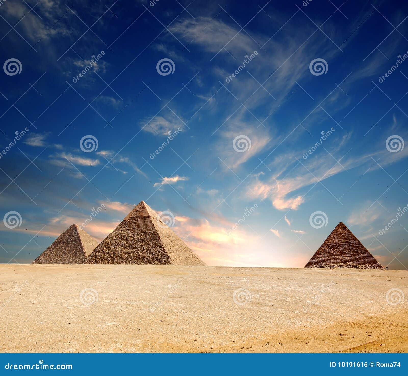 Egypt ostrosłup