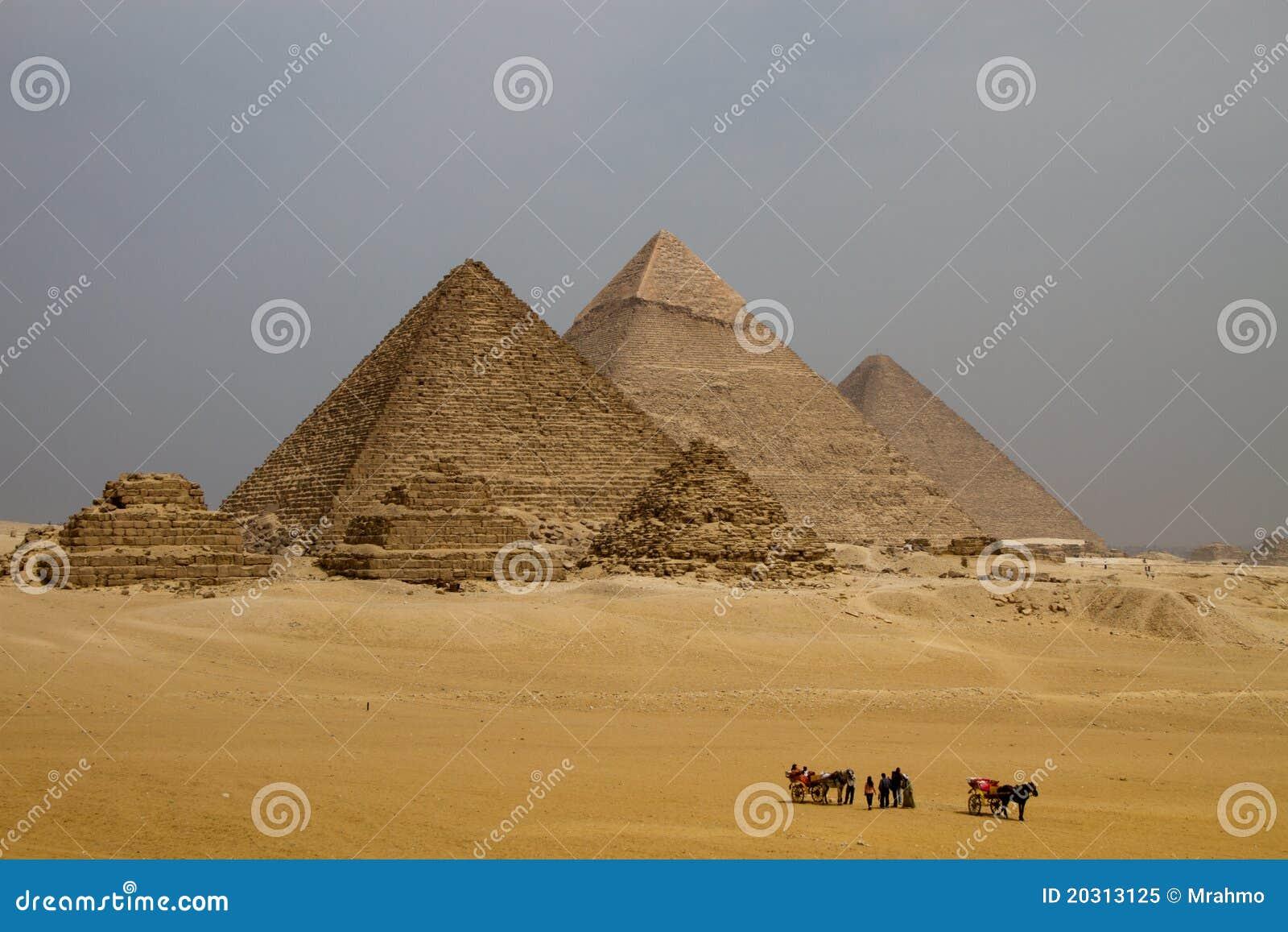 Egypt ostrosłupy