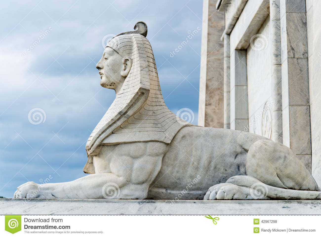Egypt Sphinx Statue Stock Photo Image Of Colorful Beauty
