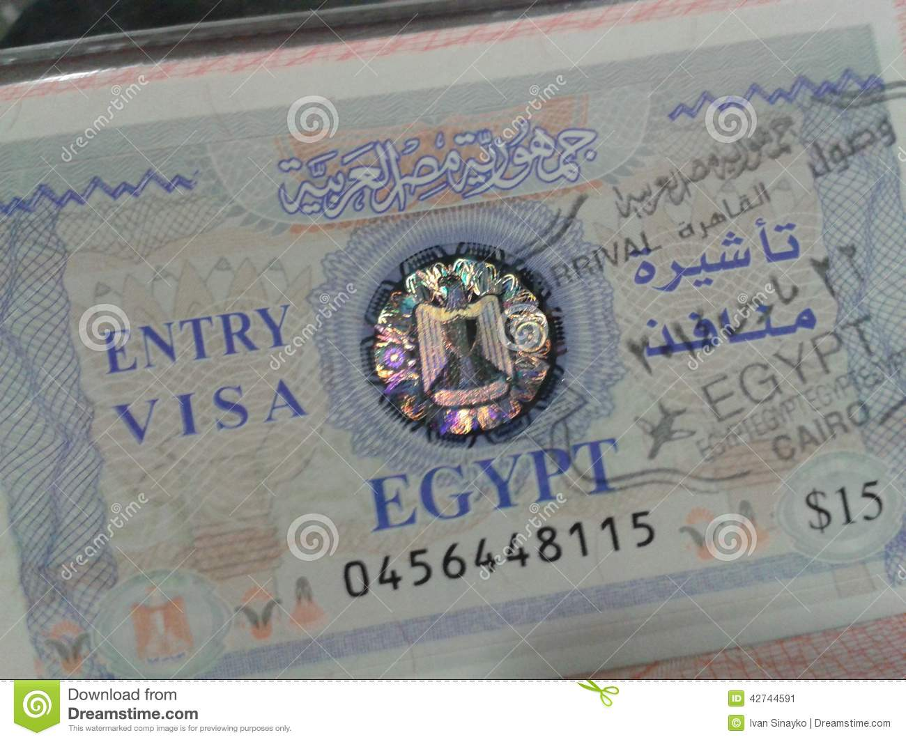 how to get an egyptian passport