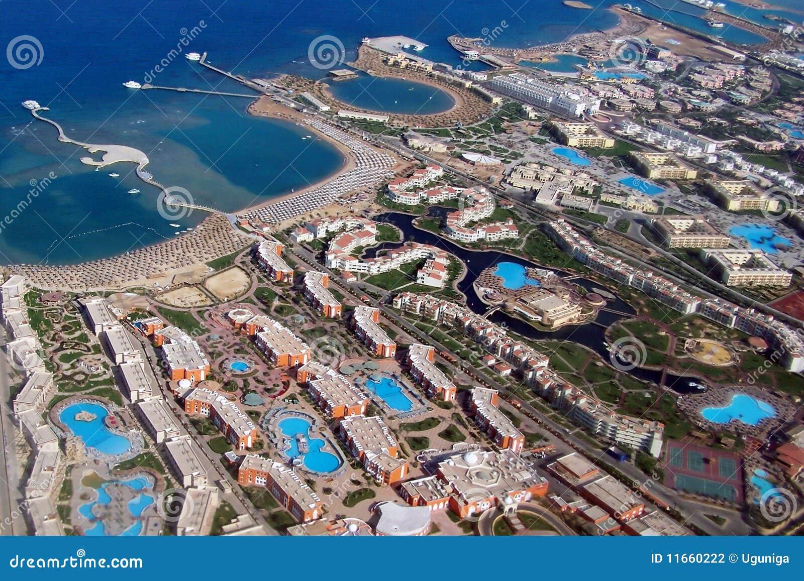 Egypte Hurgada van hierboven