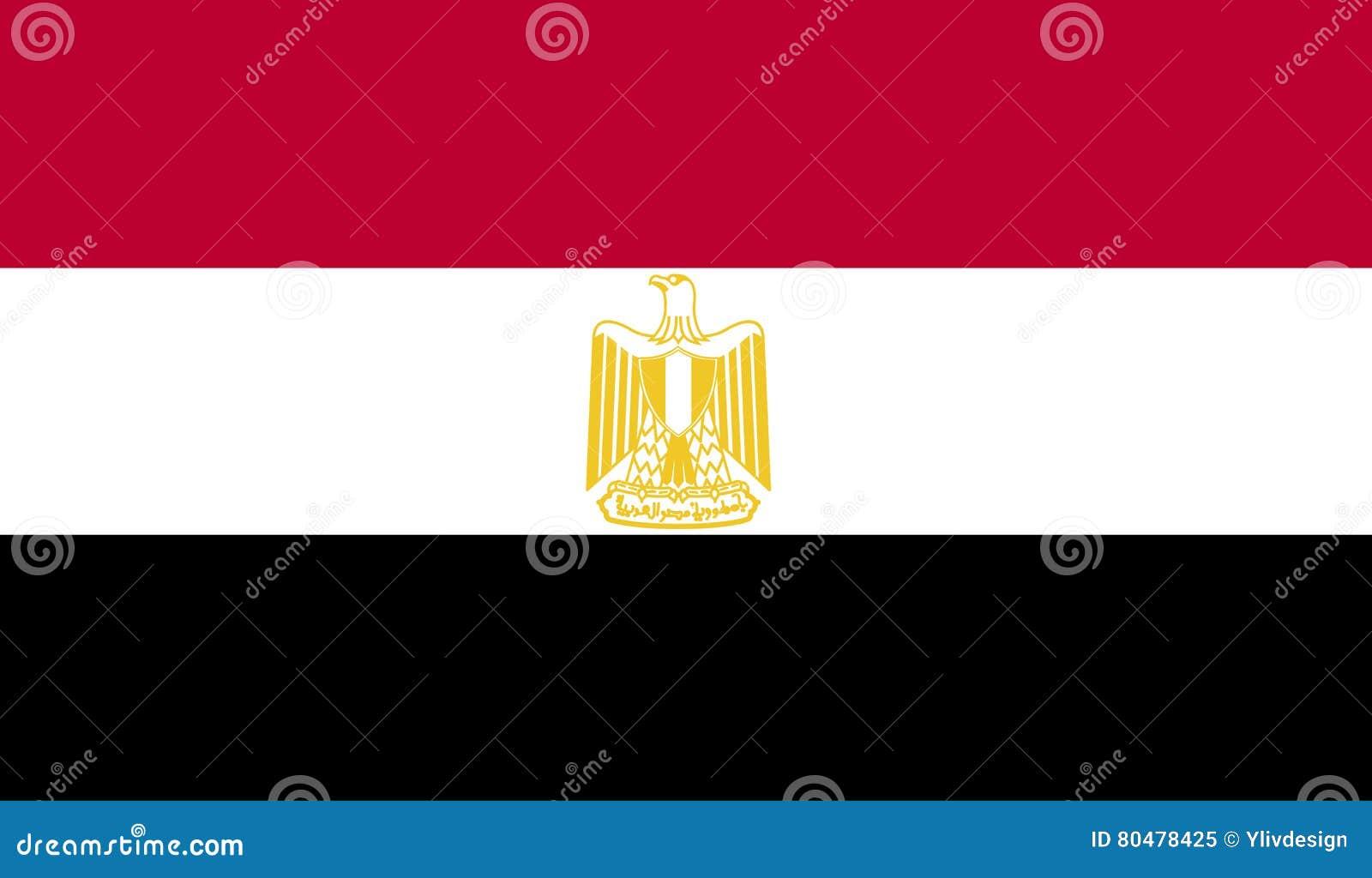 Egypten flaggabild