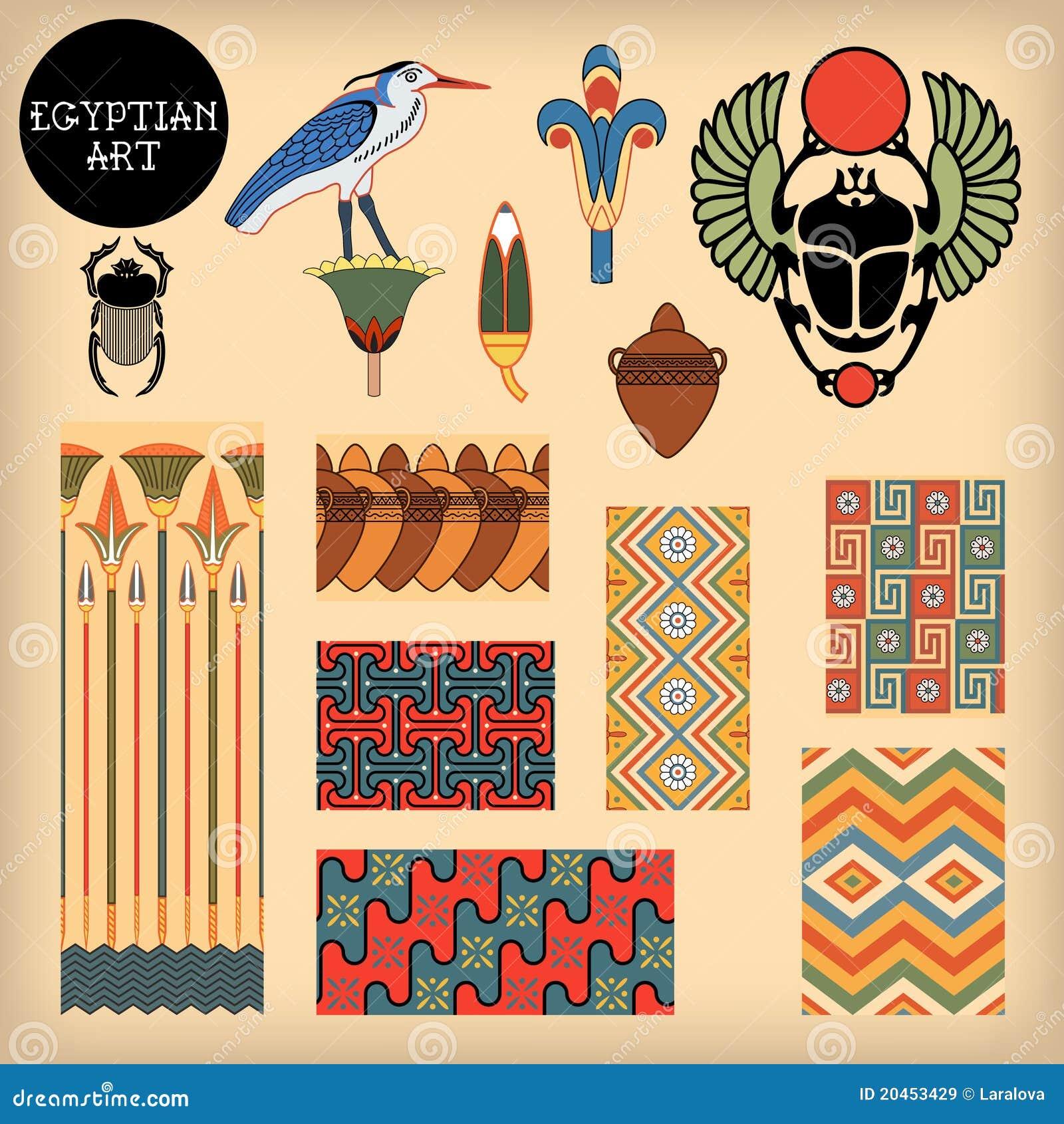 Egyptian Art Royalty Free Stock Images Image 20453429