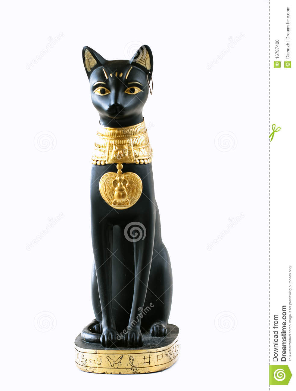 Egyptian Cat Stock Photo - Image: 16707400