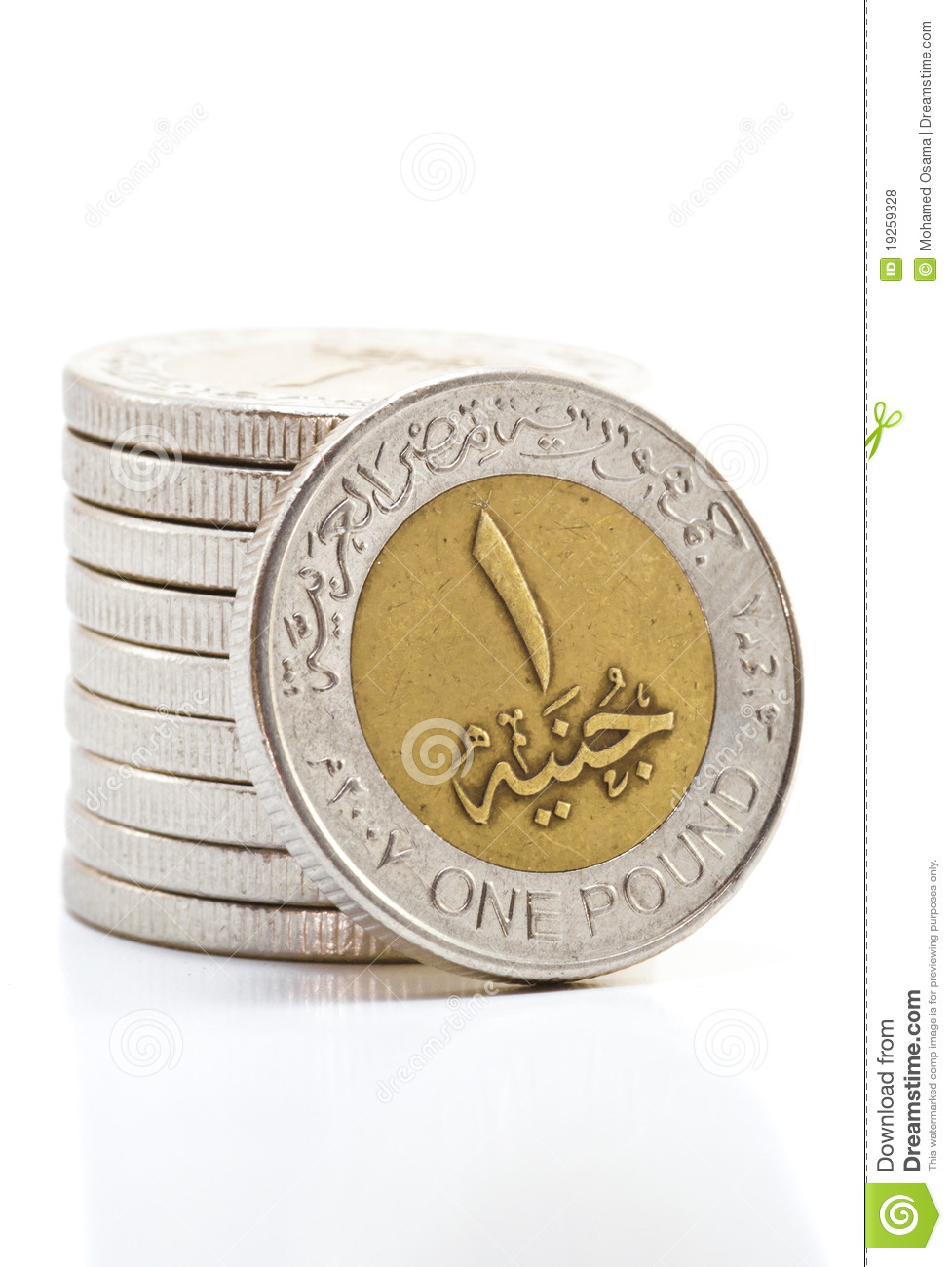 Egyptian Coins Stock Photo Image Of Economic Coin Currency 19259328
