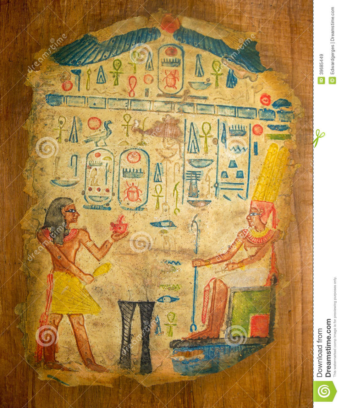 Ancient Egyptian Papyrus Art | Rachael Edwards