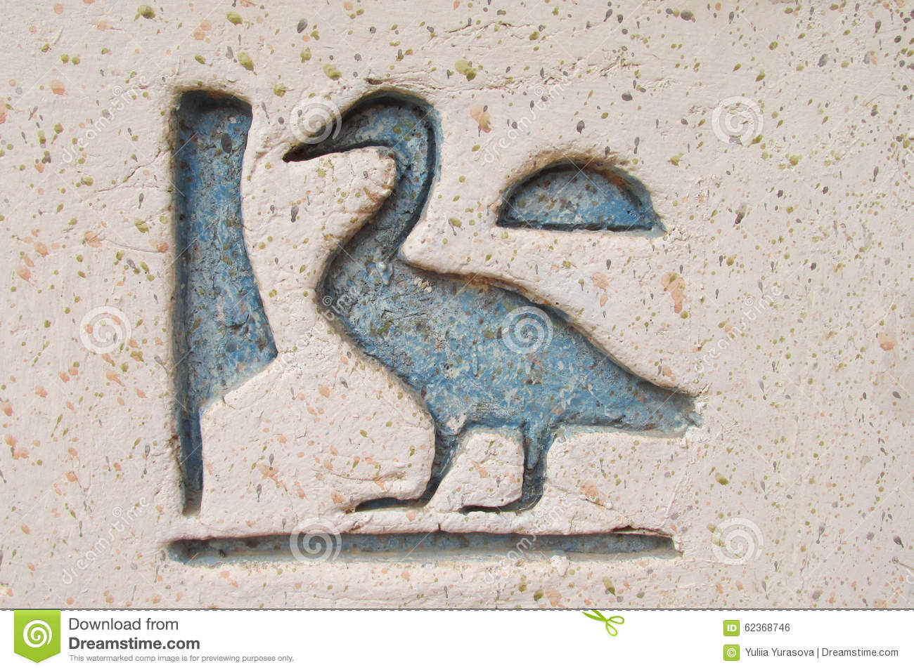Egyptian bird hieroglyphics