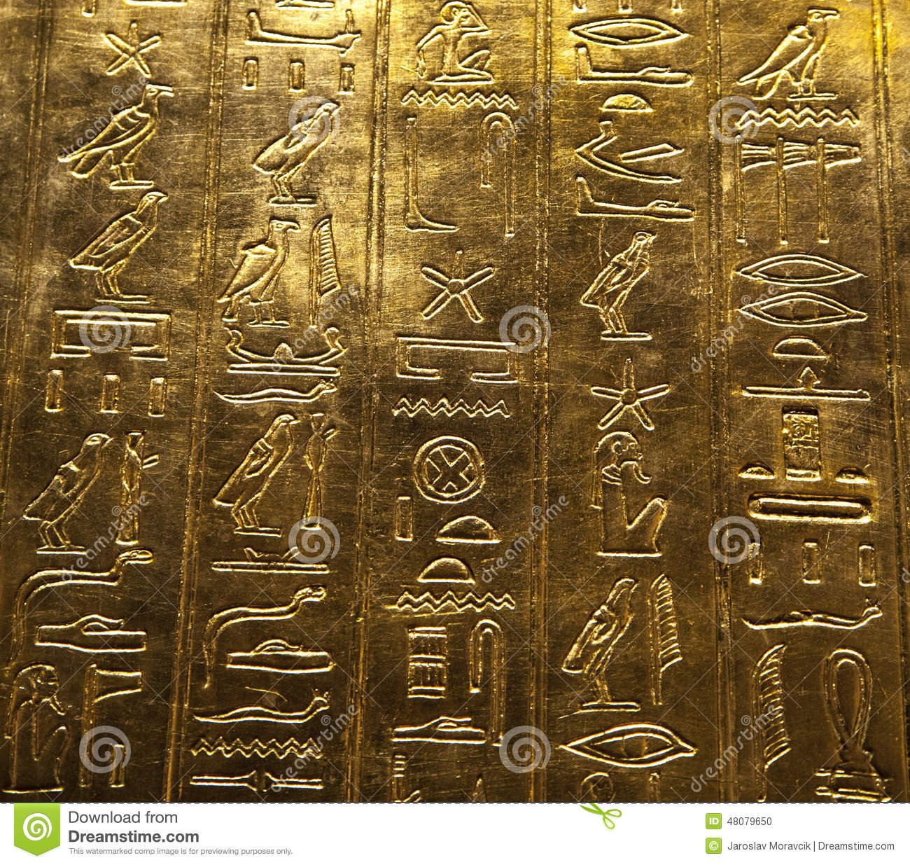 Egyptian hieroglyphics stock photo. Image of civilization ...