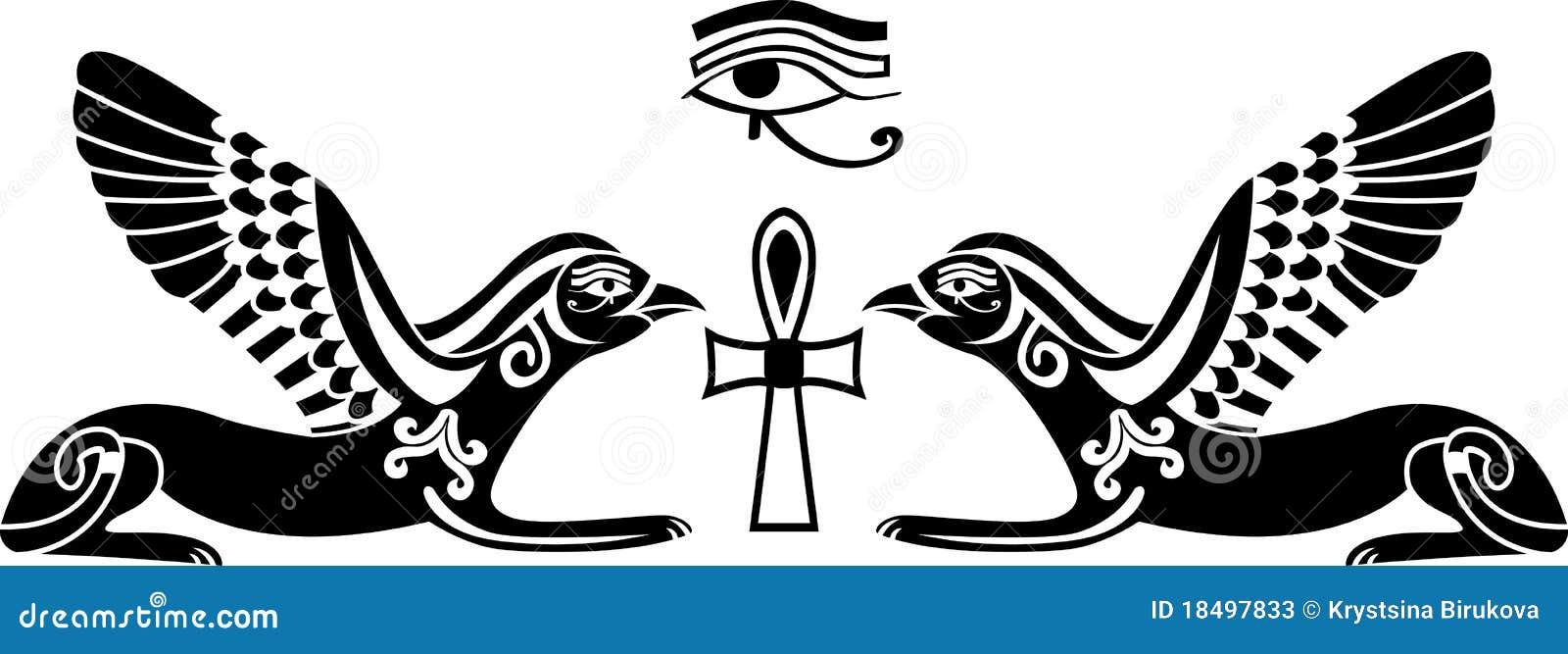 Egyptian God Symbols Hieroglyphics