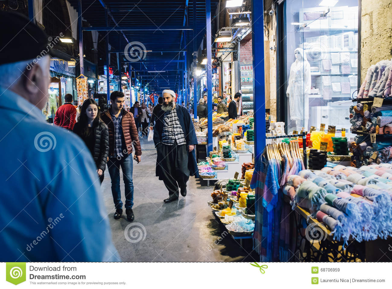 The Egyptian Market Editorial Stock Image - Image: 68706959
