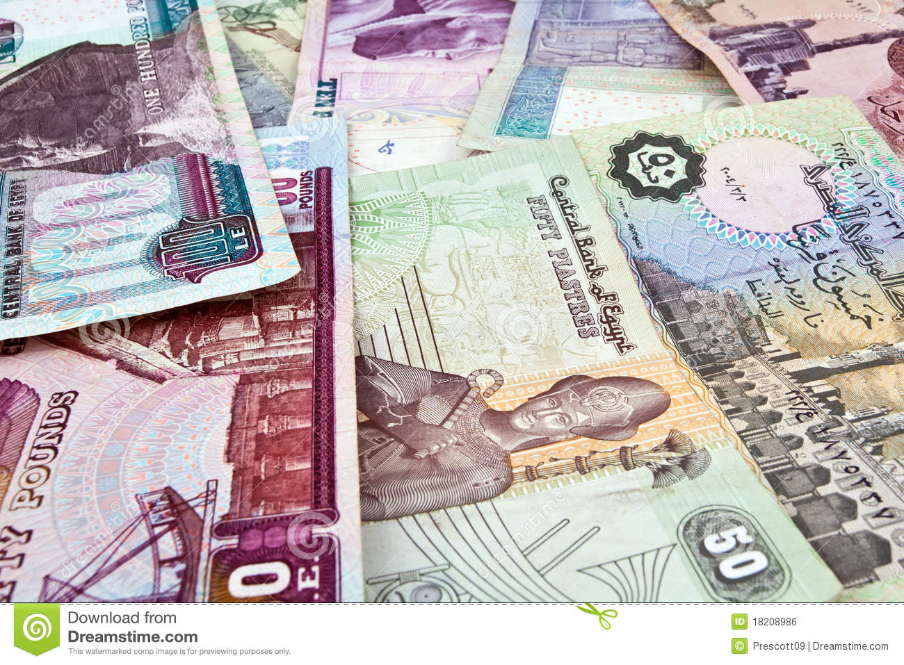 egyptian money stock photo image of africa south bank