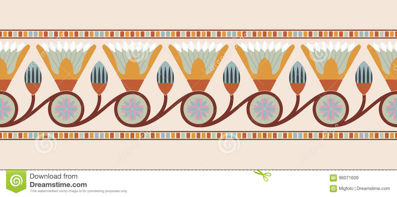 Egyptian national ornaments stock vector illustration of meaning egyptian national ornaments izmirmasajfo