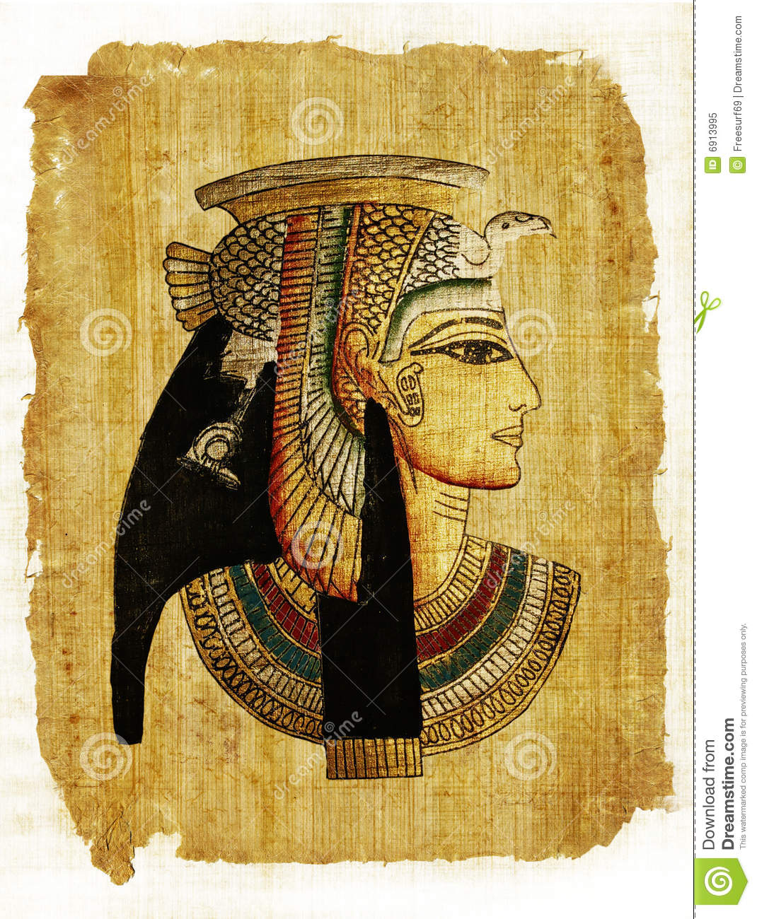 Egyptian Parchment Royalty Free Stock Photo - Image: 6913995