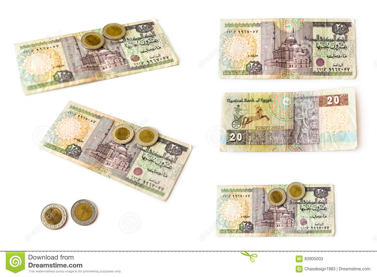 Egyptian pounds banknote and coins set egp stock image image of royalty free stock photo biocorpaavc Images