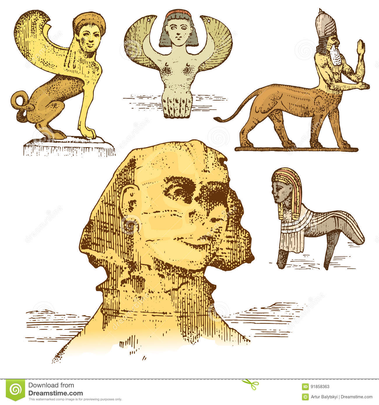 Related Keywords & Suggestions for Sphinx Symbol