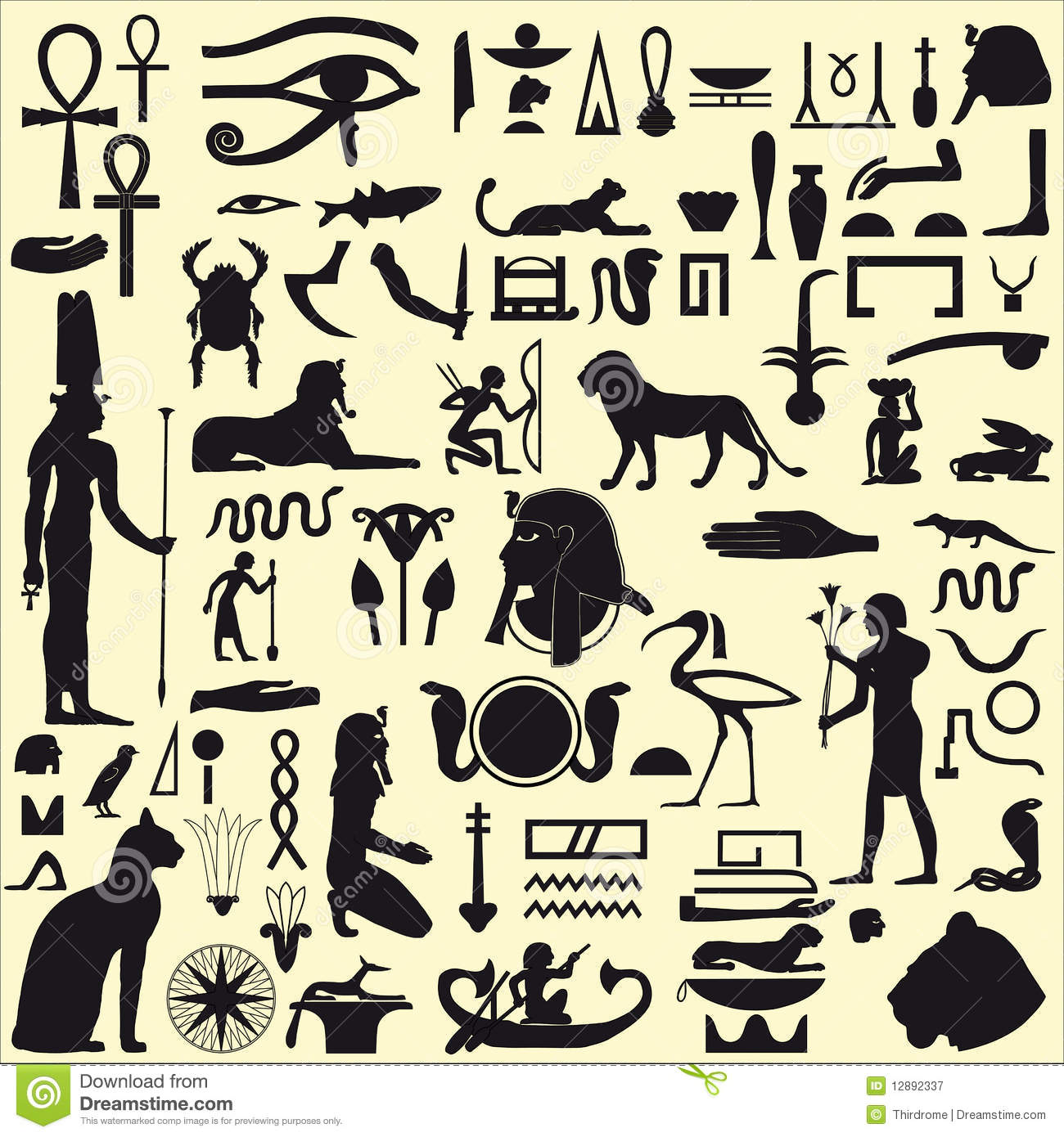 Copy of copy of ancient egypt lessons tes teach egyptian symbols and signs royalty free stock photography image biocorpaavc