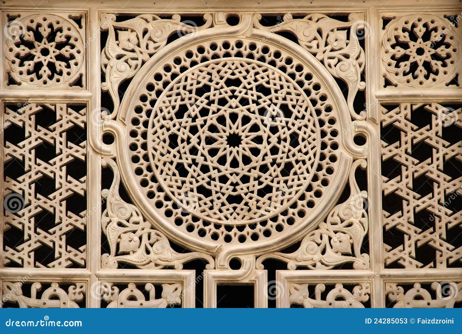 Egyptian Window Ornament Stock Image Image Of Masjid